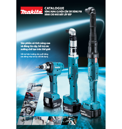 Cordless tools for industry catalogue_view
